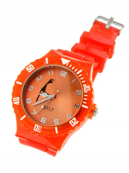 "SYLT-Uhr ""ORANGE"""